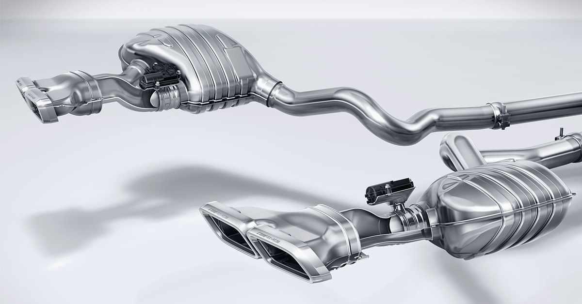 Impianto di scarico Performance AMG