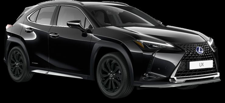 Lexus UX Hybrid Midnight